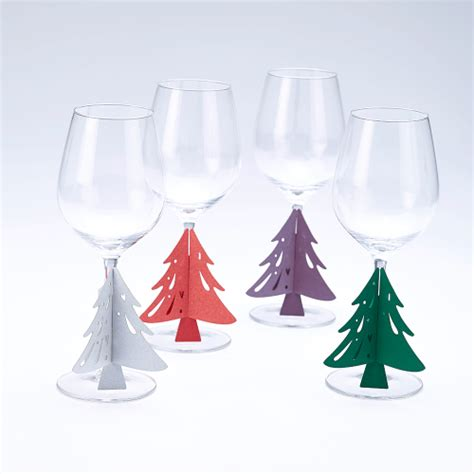 wedding christmas tree glass stem decorations