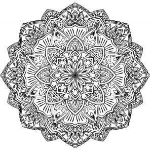 Mandalas Coloring Pages For Adults Page 5