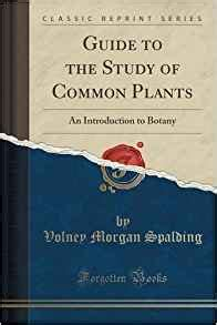 the analysis of mind classic reprint books guide to the study of common plants an