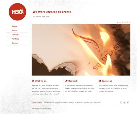 idea website 10 rock solid website layout exles design shack