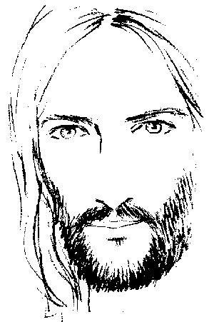 imagenes en blanco y negro de jesucristo rostro jesus a lapiz dibujos pinterest l 225 piz