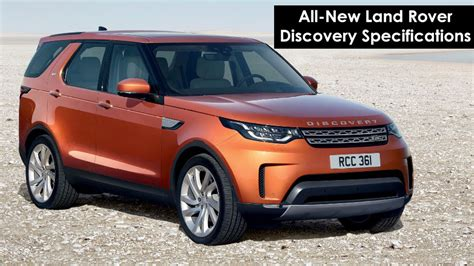 land rover specifications all new land rover discovery variants specifications