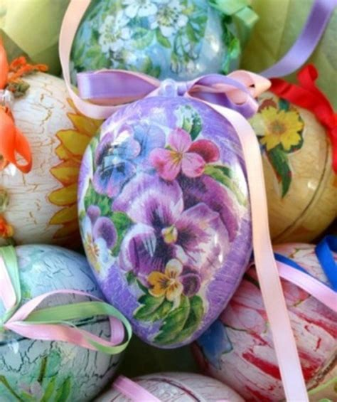 Decoupage Decorating Ideas - decoupage on easter egg interior design ideas avso org
