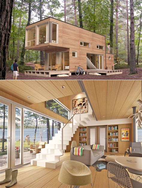 cool tiny house ideas meka luxury pre fab homes without the quot luxury quot price tag