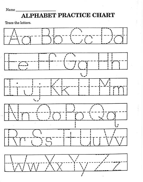 alphabet letter tracing templates alphabet worksheets to print loving printable