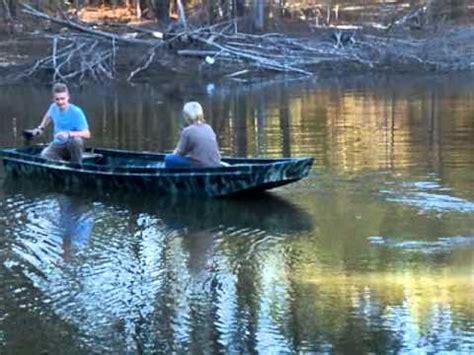 jon boat with trolling motor speed my mod jon boat w 34 lb thrust trolling motor youtube