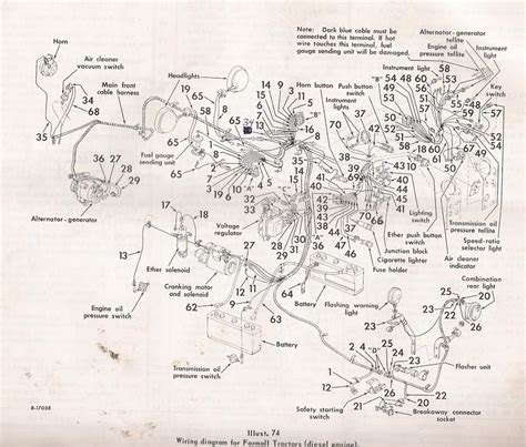 ih parts diagrams dash wire diagram for 856 general ih power