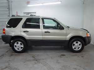 2004 Ford Escape Mpg 2004 Ford Escape Xlt Biscayne Auto Sales Pre Owned