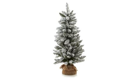 best prelit 3ft christmas trees reviews 3ft pre lit snowy tree shop george