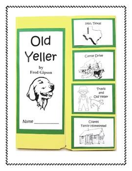 book report on yeller yeller book report and lapbook by finch tpt