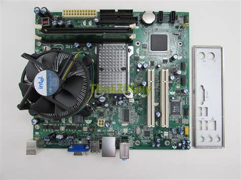 Ram Cpu Pentium 4 intel d945gcpe motherboard pentium 4 3 0ghz cpu 512mb ram hsf i o plate ebay