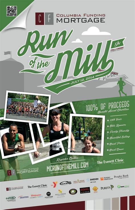 design poster event running event poster design run of the mill 5k poster