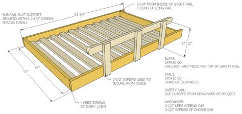 Build Loft Bed Frame How To Build A Size Loft Bed Jays Custom Creations