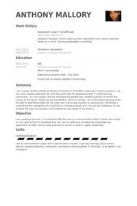 Basketball Coach Sle Resume by Basketball Coaching Resume Sales Coach Lewesmr