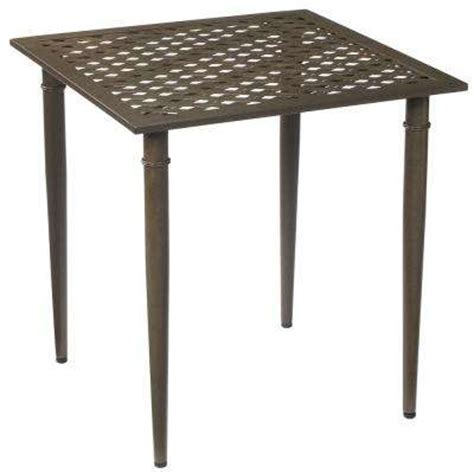 Outdoor Bistro Tables Patio Tables The Home Depot Bistro Table Patio