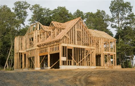 when building a house building