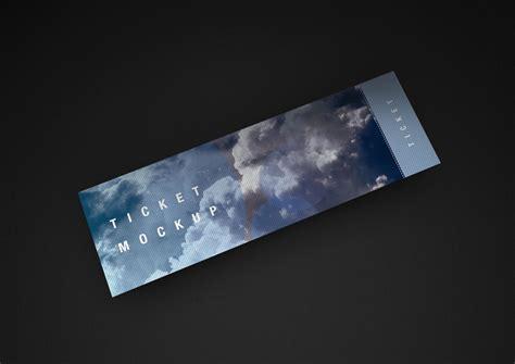 Best Gift Wrapping Paper - ticket mockup set mockupworld