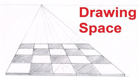 how to draw a floor one point perspective drawing tutorials how to draw