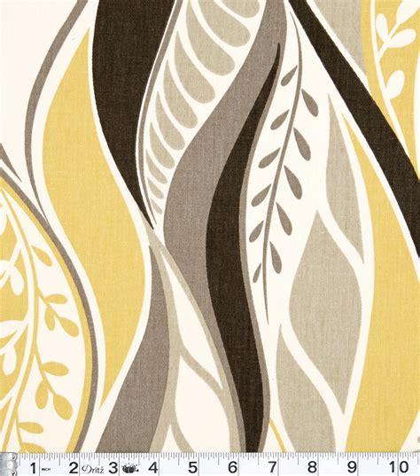 modern home decor fabric home decor print fabric modern essentials jala citron