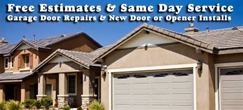 garage door repair installation in whittier ca prompt