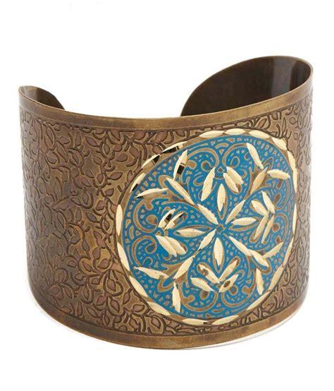 Handmade Pride - handmade pride two tone cuff bracelet buy handmade
