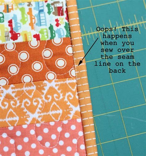 How To Sew Binding On A Quilt With A Machine by Machine Binding Tutorial Cluck Cluck Sew