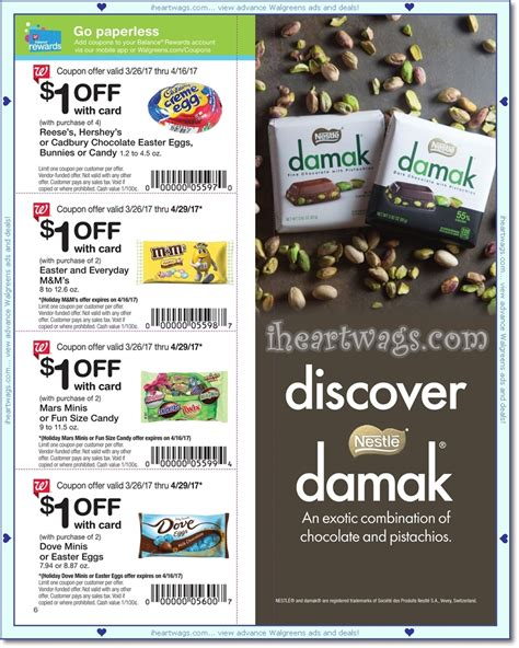 walgreens picture book i wags ad scans april 2017 coupon book 03 26 04 29