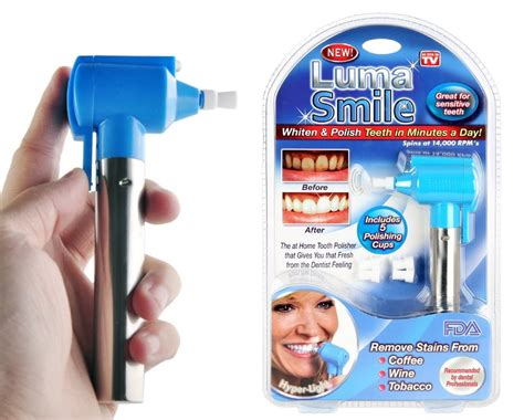 Luma Smile 2 new luma smile home tooth polisher removes stains for