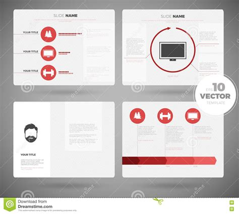 powerpoint set template business presentation template set powerpoint template