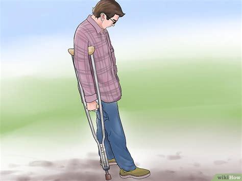 Kruk Tongkat Kaki 4 3 cara untuk mengenakan kruk tongkat penyangga kaki wikihow