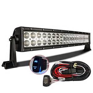how to make a led light bar mictuning 22 120w 3b139c curved led work light bar combo