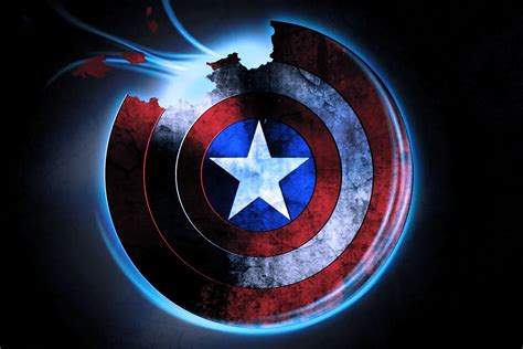 captain america logo wallpaper hd captain america wallpapers page 1