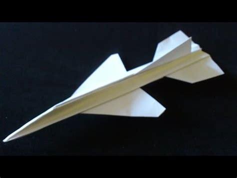 cara membuat origami jet origami membuat jet tempur dari kertas doovi