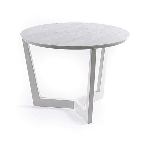 white side table solid wood marble top white side table coffee table