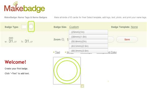 free event badges event badge templates for meetings