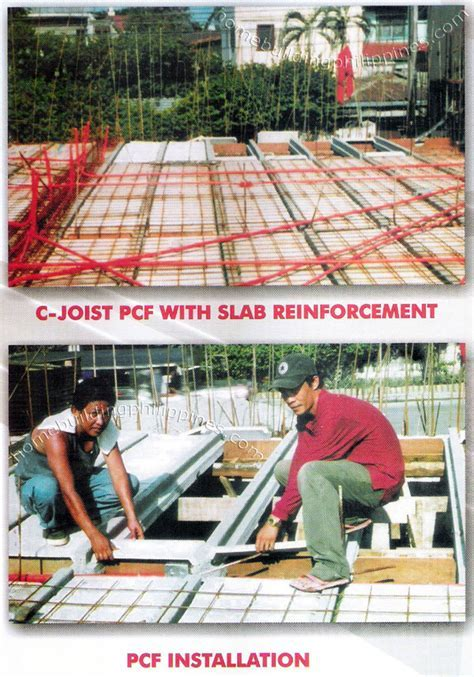 Floor and Roof Concrete Slab System Illustrations Philippines