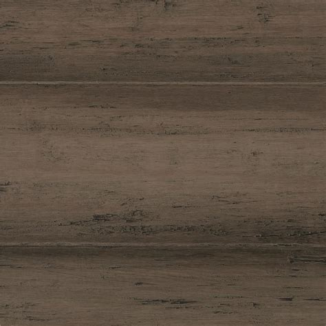 Bamboo Floor L Home Decorators Collection Scraped Strand Woven Warm Grey 3 8 In T X 5 1 8 In W X 72 7 8