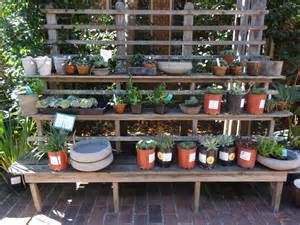 Patio Plant Shelves by Vintage Plant Display Stands Tended