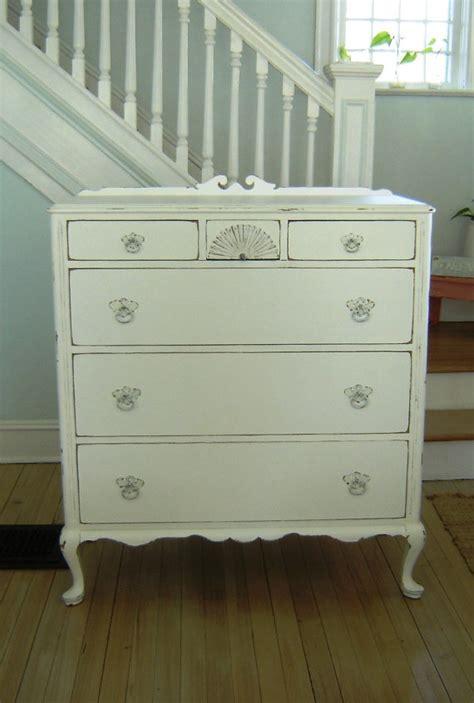Shabby Chic White Dresser by Vintage White Shabby Chic Dresser Bedroom Furniture