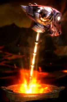 Hummer Aprodhite Boots image minotaur hammer png god of war wiki fandom