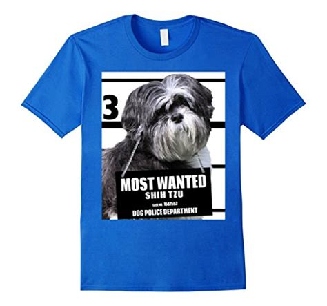 shih tzu wanted most wanted shih tzu t shirt shirts 31