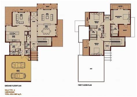 villa siena floor plans 3 bedroom 3687 sq ft saheel arabian ranches dubai