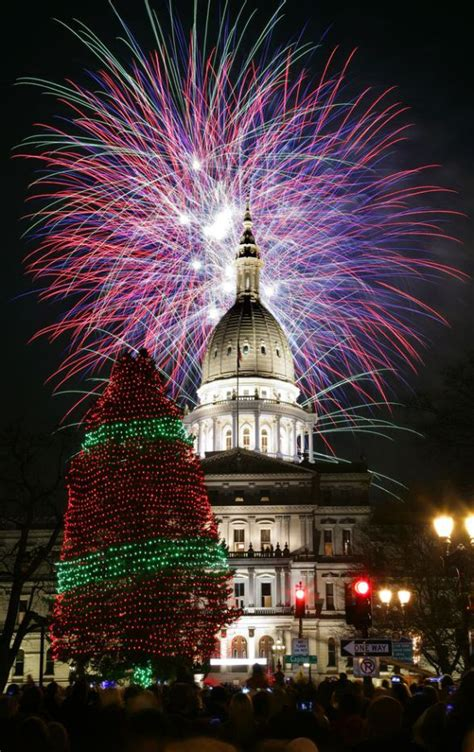 michigan christmas picture michigan capitol tree tim latimer quilts etc
