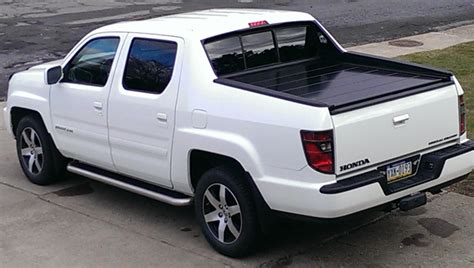 honda ridgeline bed cover honda ridgeline retractable truck bed covers by peragon