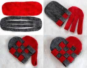 Diy valentine s day gift felt heart find fun art projects to do at