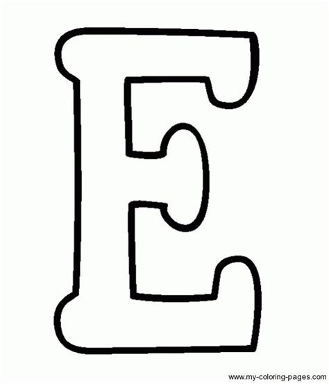 coloring capital letters e vbs pinterest coloring
