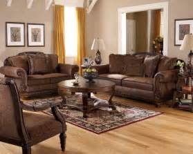 living room impressive tuscan style living room furniture which has brown leather sofa