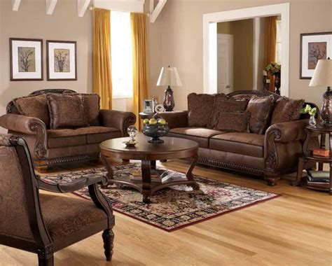Tuscan Living Room Furniture Living Room Impressive Tuscan Style Living Room Furniture Which Has Brown Leather Sofa