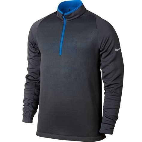 Sweater Nike 2 2015 nike hypervis 2 0 half zip cover up therma fit sweater mens golf pullover ebay