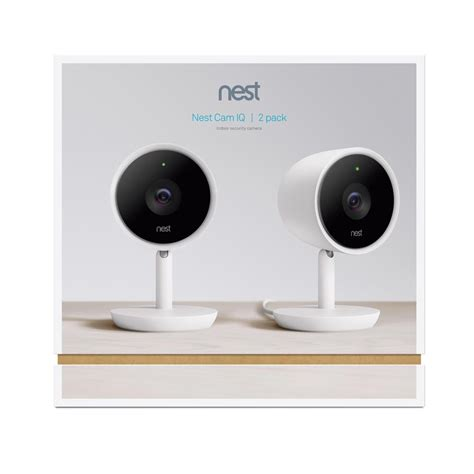 nest indoor iq security 2 pack nc3200us the